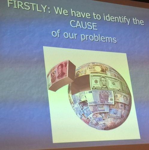 Erstens: Wir müssen die Gründe für unsere Probleme identifizieren